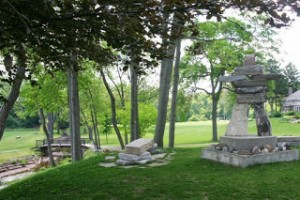 Inukshuk at Appleby